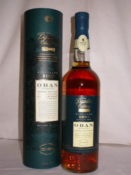 Oban 1992/2007 Distillers Edition 43%vol. 0,7l