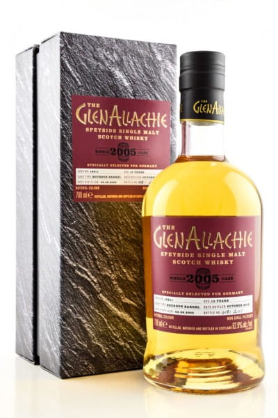 GlenAllachie 13 Jahre 2005/2018 Bourbon Barrel 62,9%vol. 0,7l
