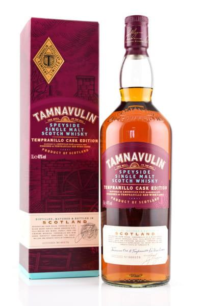 Tamnavulin Tempranillo Cask Edition Single Batch #00576 40%vol. 1,0l