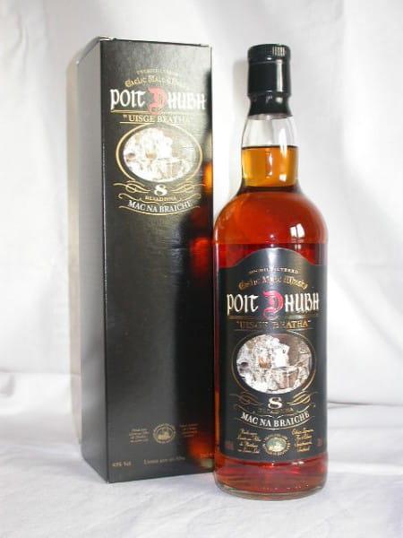 Poit Dhubh 8 Jahre Gaelic Malt Whisky 43%vol. 0,7l altes Design