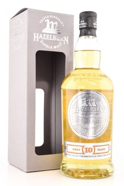 Hazelburn 10 Jahre 46%vol. 0,7l