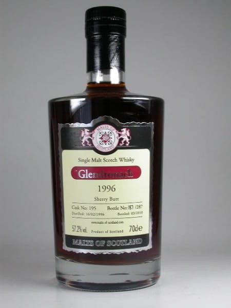 Glendronach 1996/2010 Sherry Butt Malts of Scotland 57,2%vol. 0,7l