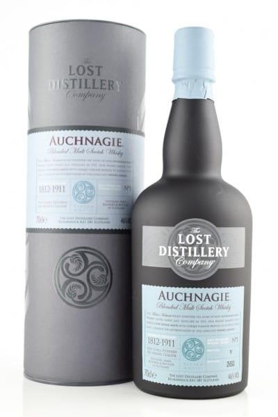 Auchnagie Blended Malt Scotch Whisky - Lost Distillery 46%vol. 0,7l