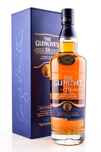Glenlivet 18 Jahre 40%vol. 0,7l
