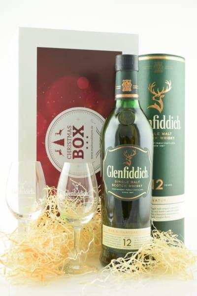 Christmas Box Glenfiddich 12 Jahre inkl. 2 Gläser