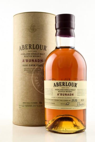 Aberlour a'bunadh Batch No. 62 59,9%vol. 0,7l