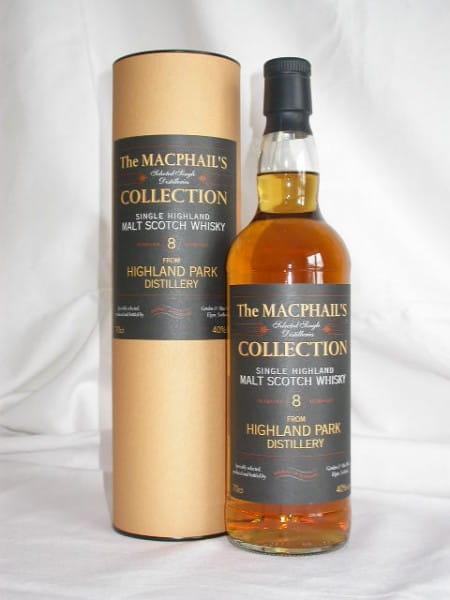 Highland Park 8 Jahre Gordon & MacPhail 40%vol. 0,7l