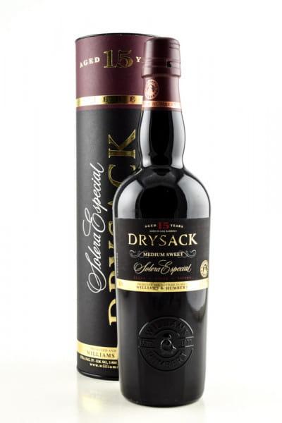 DRYSACK 15 Jahre Solera Especial Williams & Humbert 20,5%vol. 0,5l