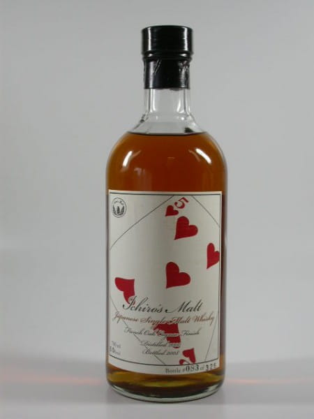 "Hanyu-Ichiro's Malt ""Five of Hearts"" 00/08 Single Cask #9100 60%vol. 0,7l"