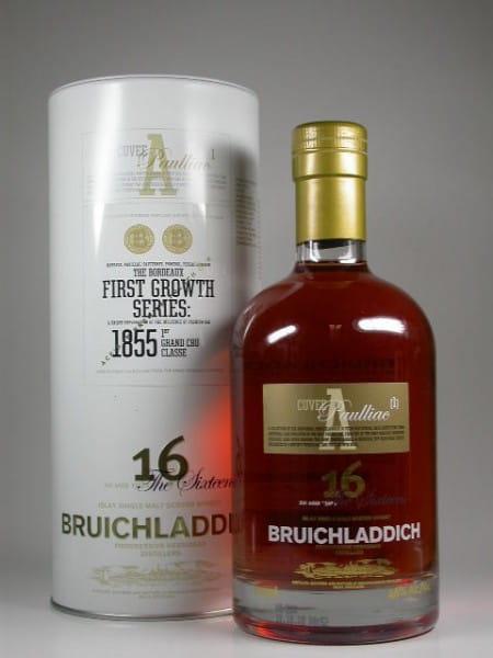 Bruichladdich First Growth Series 16 Jahre Cuvee A Paulliac/1 46%vol. 0,7l