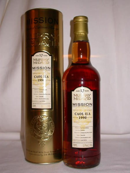 Caol Ila 1990/2007 Murray McDavid Gold Series 53,9%vol. 0,7l