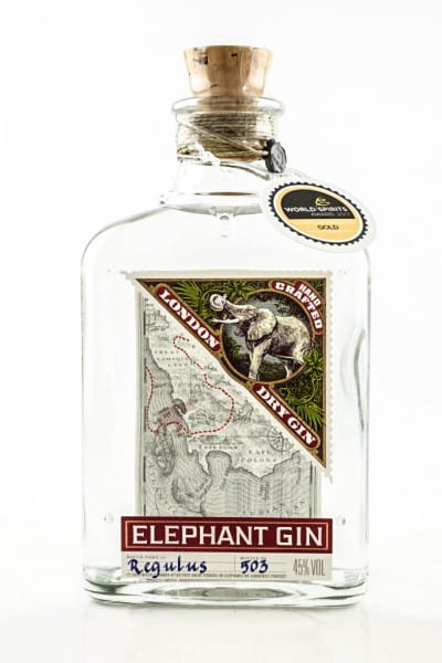 Elephant Gin 45%vol. 0,5l