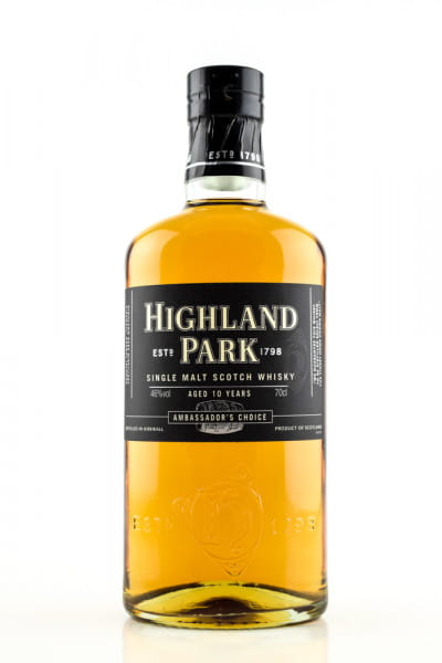 Highland Park 10 Jahre Ambassador's Choice 46%vol. 0,7l