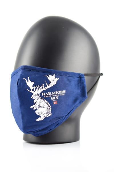 Harahorn Behelfs-Maske 100% Baumwolle