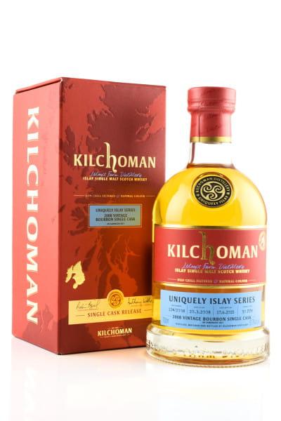 Kilchoman Vintage 2008 Single Bourbon Barrel #124 53,7%vol. 0,7l #9/9