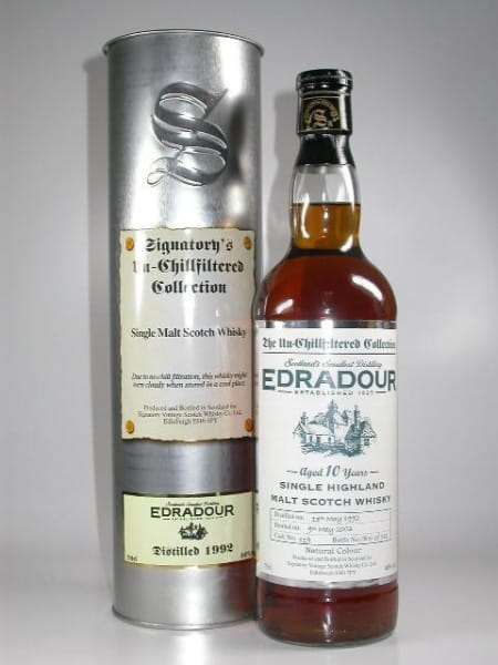 Edradour 10 Jahre 92/03 Single Cask Signatory 46%vol. 0,7l
