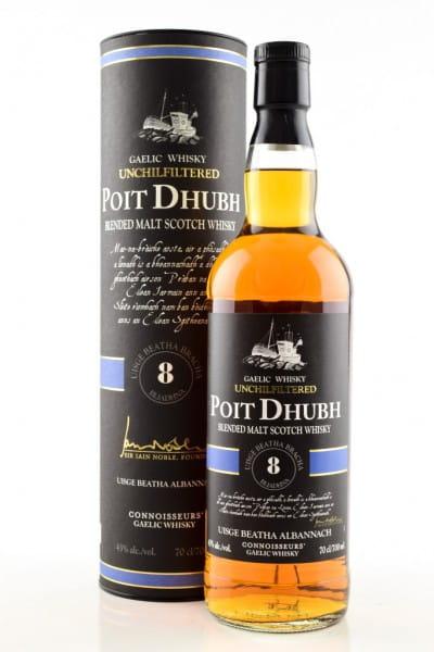 Poit Dhubh 8 Jahre 43%vol. 0,7l