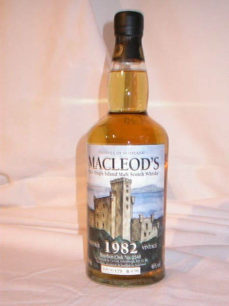 MacLeod's Vintage 1982/2006 (Talisker) Single Cask 46%vol. 0,7l