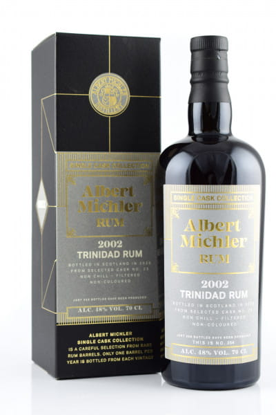Albert Michler Single Cask Collection Trinidad 2002/2020 48%vol. 0,7l