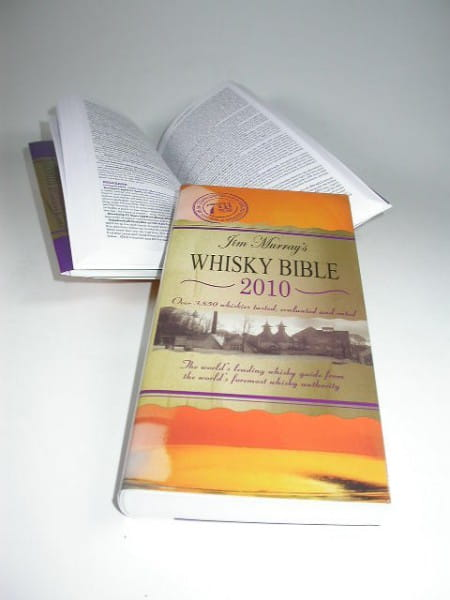 Jim Murray's Whisky Bible 2010 mit Original-Autogramm!