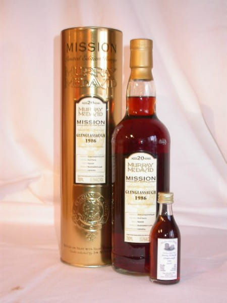 Glenglassaugh 86/06 Murray McDavid Gold Series 55,3%vol. Sample