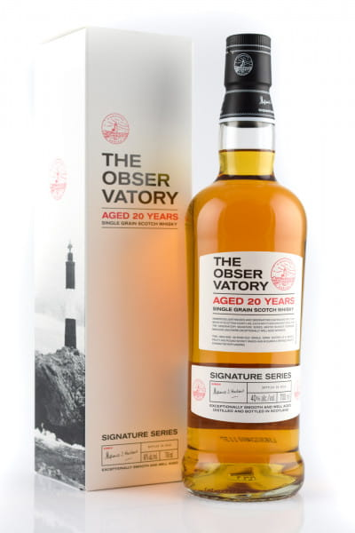 The Observatory 20 Jahre Signature Series Single Grain Whisky 40%vol. 0,7l