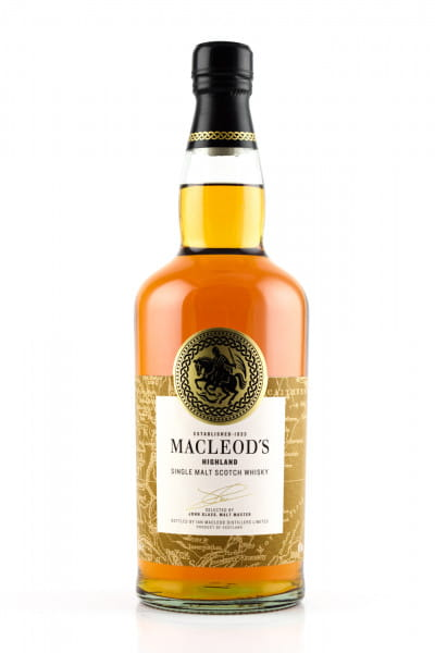 MacLeod's Highland Single Malt Whisky 40%vol. 0,7l