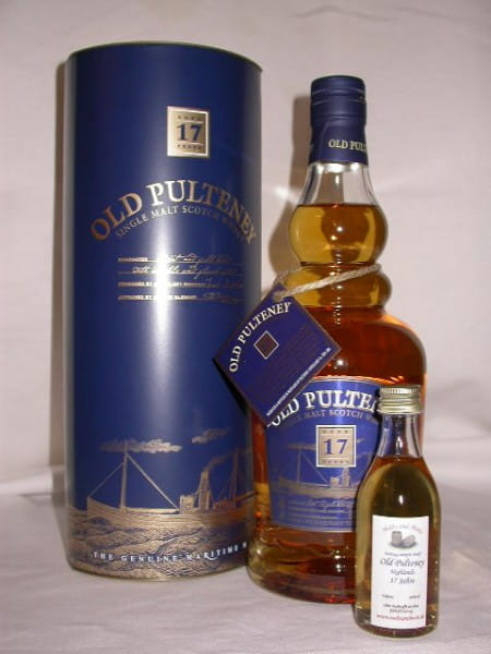 Old Pulteney 17 Jahre 46%vol. Sample 0,05l