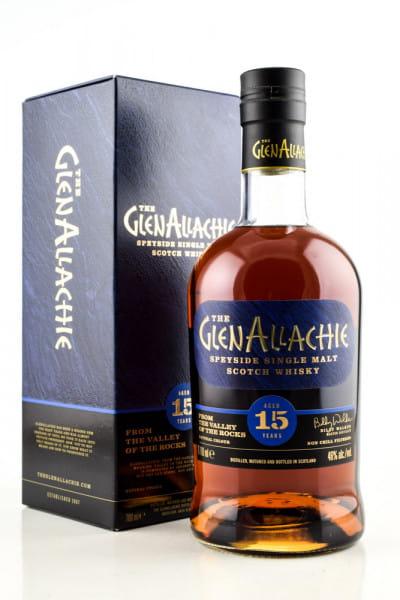 GlenAllachie 15 Jahre 46%vol. 0,7l