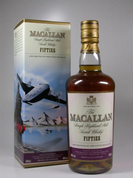 "Macallan ""Fifties"" 40%vol. 0,5l"