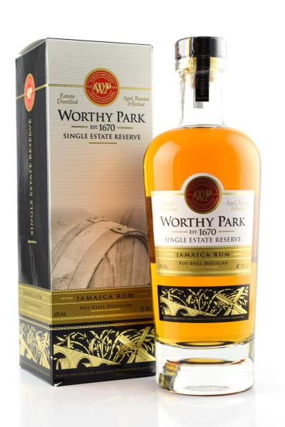 Worthy Park Single Estate Reserve 45%vol. 0,7l