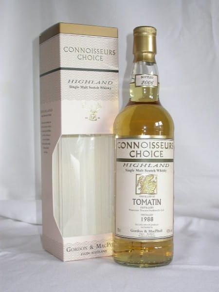 Tomatin 1988/2006 Gordon & MacPhail Connoisseurs Choice 43%vol. 0,7l