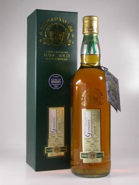Glenlivet 39 Jahre 1970/2009 Rare Auld Duncan Taylor 48,6%vol. 0,7l