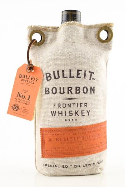 Bulleit Bourbon 45%vol. 0,7l im Lewis Bag