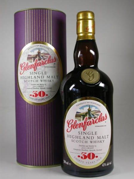 Glenfarclas 30 Jahre (altes Design) 43%vol. 0,7l