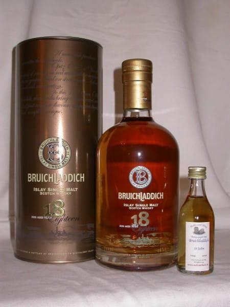Bruichladdich 18 Jahre 46%vol. Sample 0,05l