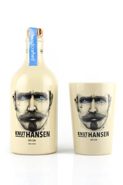 Knut Hansen Dry Gin 42%vol. 0,5l mit Becher