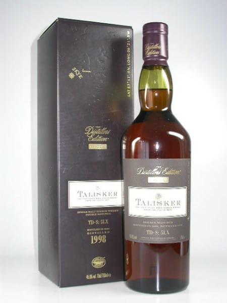 Talisker 1998/2009 Distillers Edition 45,8%vol. 0,7l