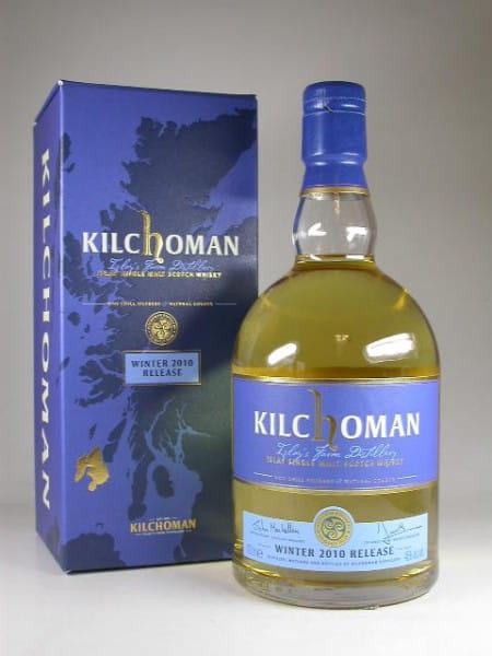 Kilchoman Winter 2010 Release 46%vol. 0,7l