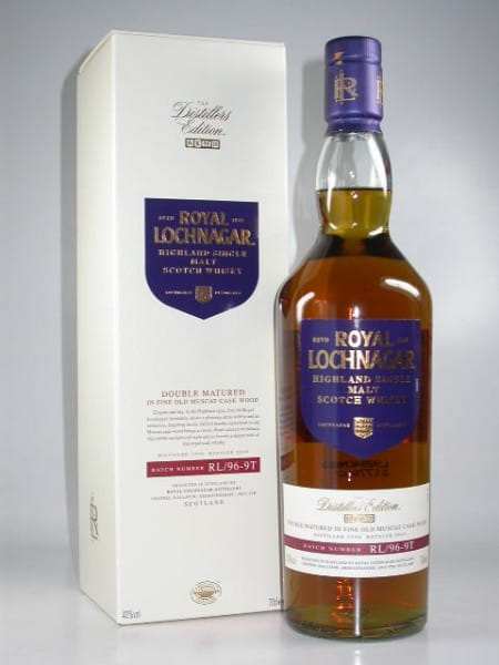 Royal Lochnagar 1996/2009 Distillers Edition 40%vol. 0,7l