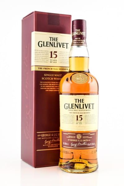 Glenlivet 15 Jahre French Oak Reserve 40%vol. 0,7l