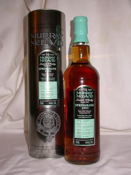 Springbank 1993/2007 Bourbon/Grenache Murray McDavid 46%vol. 0,7l