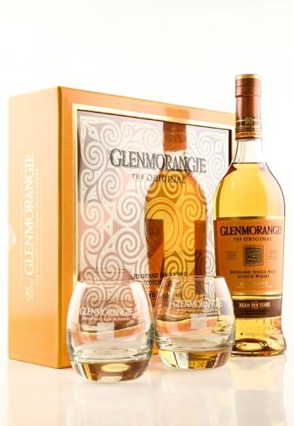 Glenmorangie 10 Jahre The Original 40%vol. 0,7l mit 2 Gläsern