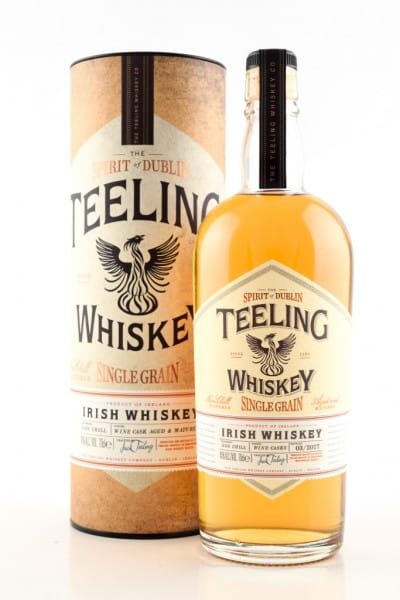Teeling Single Grain Irish Whiskey 46%vol. 0,7l