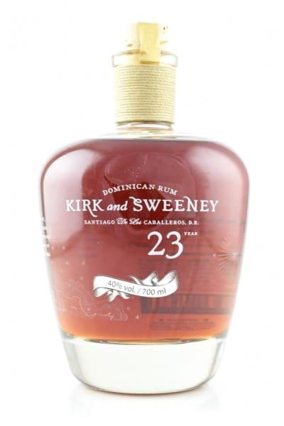 Kirk & Sweeney 23 Jahre 40%vol. 0,7l