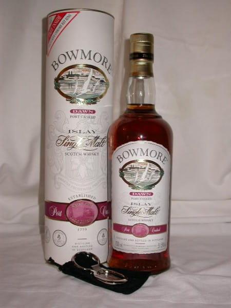 Bowmore Dawn Ruby Port Finish 51,5%vol. 0,7l inkl. Key Ring