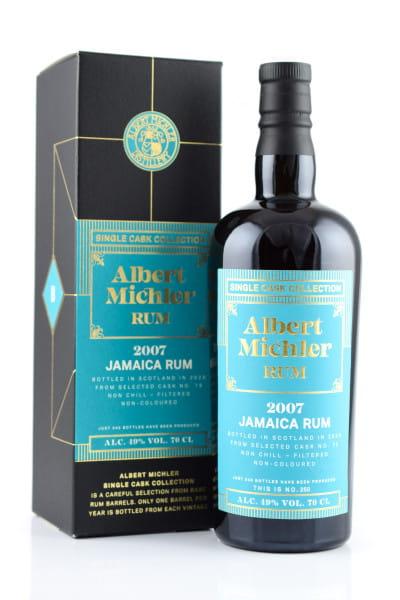 Albert Michler Single Cask Collection Jamaica 2007/2020 49%vol. 0,7l