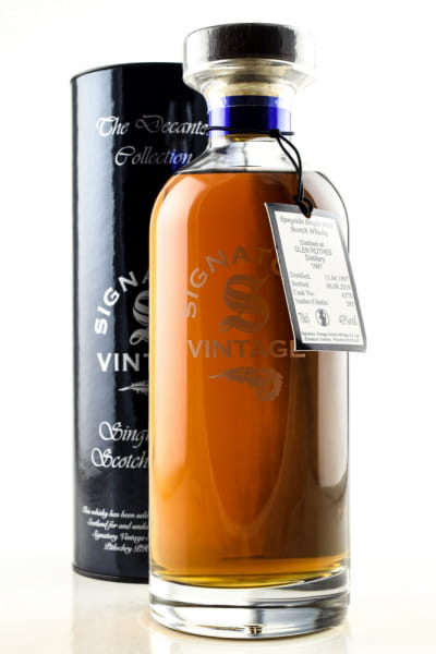 Glenrothes 1997/2019 Cask #6370 The Decanter Collection Signatory 43%vol. 0,7l