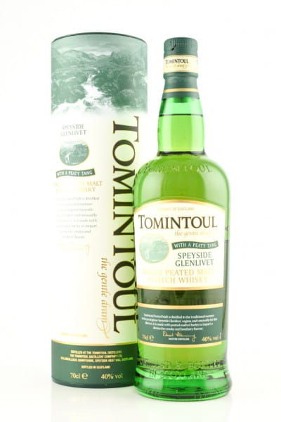 Tomintoul with a peaty Tang 40%vol. 0,7l