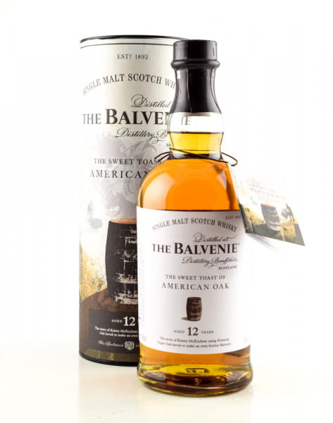 Balvenie 12 Jahre The sweet Toast of American Oak 43%vol. 0,7l